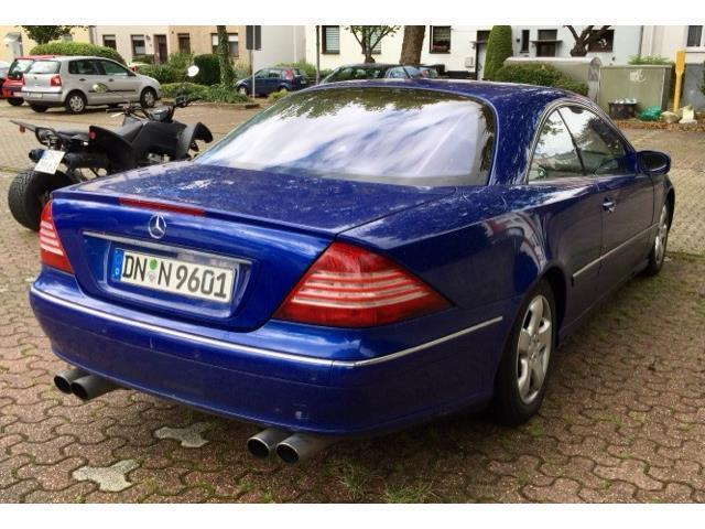 verkauft mercedes cl500 gebraucht 2000 km in hanau. Black Bedroom Furniture Sets. Home Design Ideas