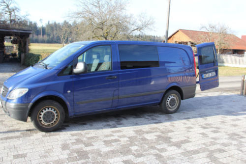 verkauft mercedes vito 115 cdi lang dp gebraucht 2008. Black Bedroom Furniture Sets. Home Design Ideas