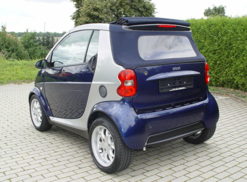gebraucht 2003 smart fortwo cabrio 0 7 benzin 61 ps 07751 isserstedt autouncle. Black Bedroom Furniture Sets. Home Design Ideas