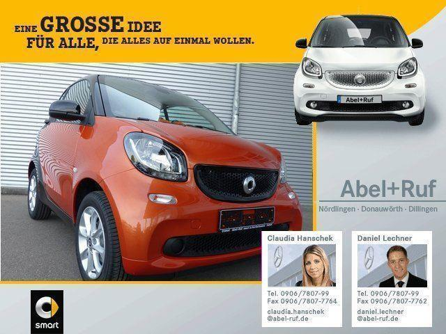 gebraucht Smart ForTwo Coupé coupe-passion-LED-Sitzheizung-Tempomat-