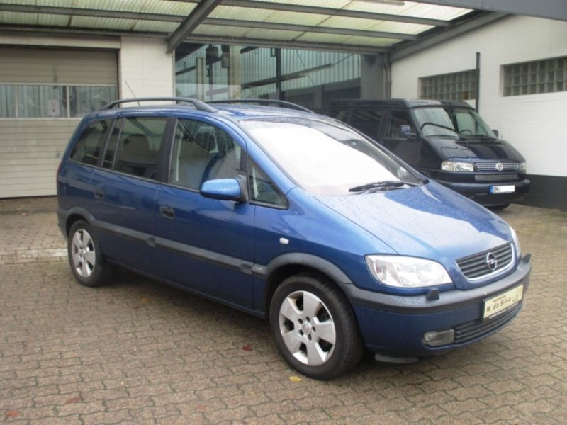 verkauft opel zafira 2 2 selection exe gebraucht 2002 km in ratekau. Black Bedroom Furniture Sets. Home Design Ideas