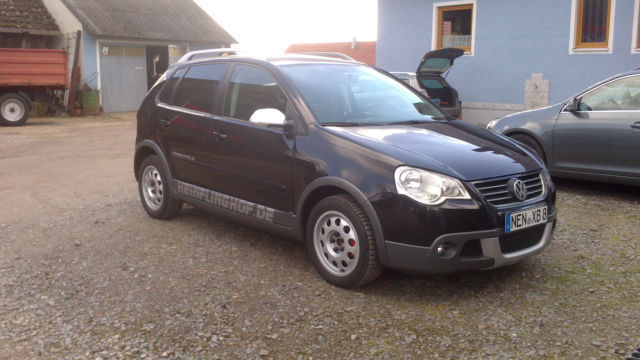 verkauft vw polo cross polo 1 4 gebraucht 2005 km in bayern. Black Bedroom Furniture Sets. Home Design Ideas