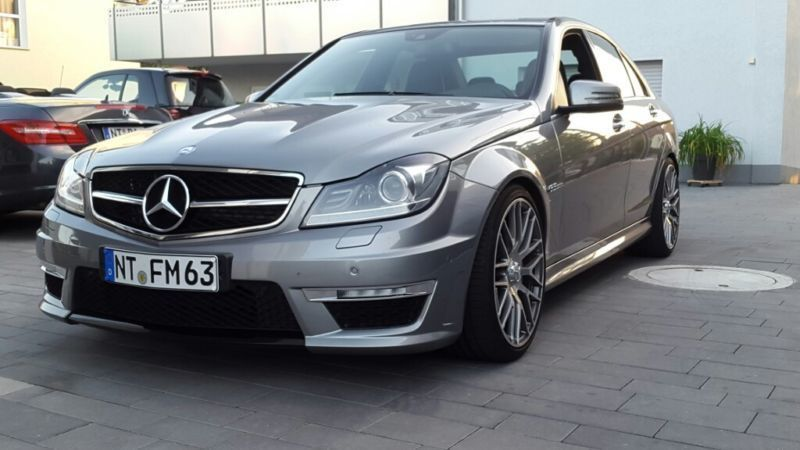 gebraucht amg amg speedshift mct jungesterne garantie mercedes c63 amg 2012 km in. Black Bedroom Furniture Sets. Home Design Ideas