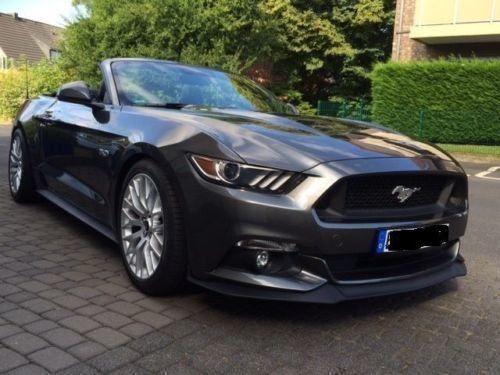 verkauft ford mustang gt cabrio 5 0 v8 gebraucht 2015 5. Black Bedroom Furniture Sets. Home Design Ideas