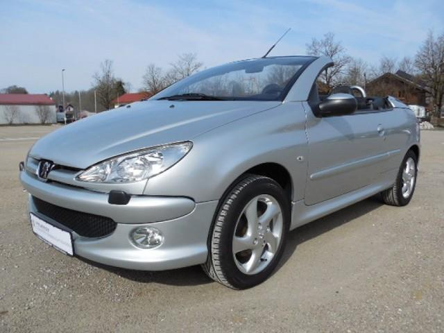 verkauft peugeot 206 cc gebraucht 2006 km in badetz. Black Bedroom Furniture Sets. Home Design Ideas