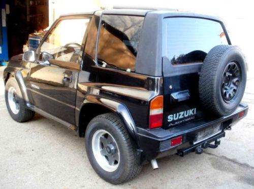 1 4 Gebraucht Suzuki Vitara Cabrio Mit HARDTOP Automatik