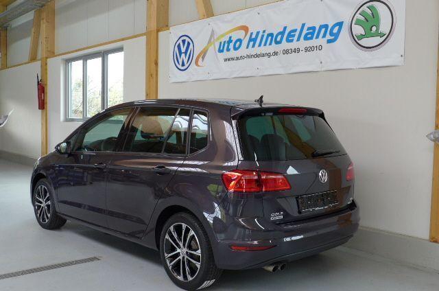 verkauft vw golf sportsvan comfortline gebraucht 2015 km in st tten a a. Black Bedroom Furniture Sets. Home Design Ideas
