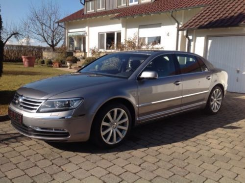verkauft vw phaeton 4 2 v8 4motion la gebraucht 2012 km in reutlingen. Black Bedroom Furniture Sets. Home Design Ideas