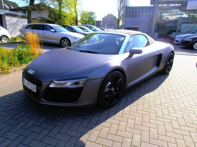 verkauft audi r8 spyder 4 2fsi navi ma gebraucht 2013 km in hagen. Black Bedroom Furniture Sets. Home Design Ideas
