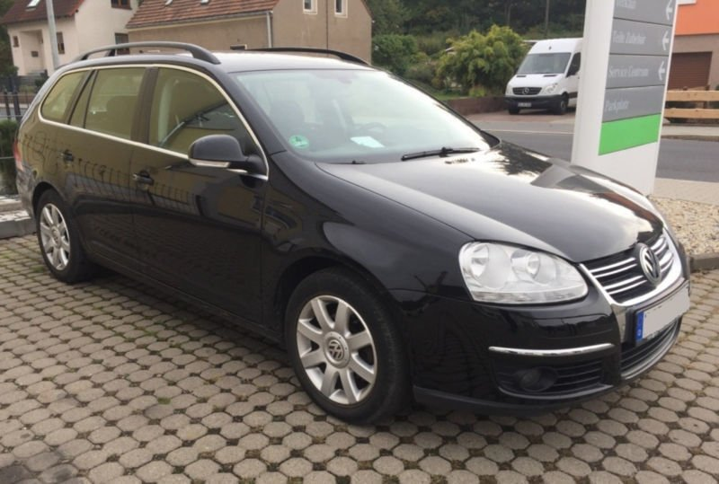 verkauft vw golf v variant comfortline gebraucht 2009 km in freital. Black Bedroom Furniture Sets. Home Design Ideas