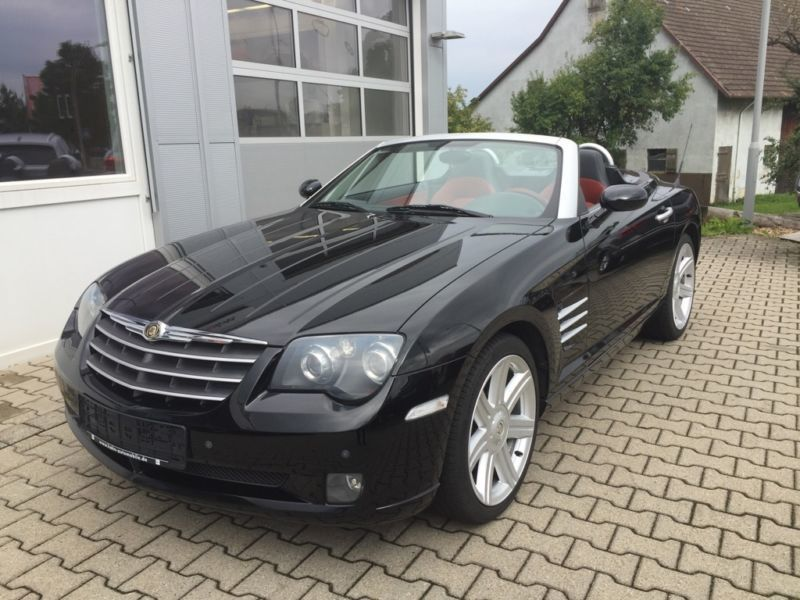 verkauft chrysler crossfire roadster gebraucht 2004 140. Black Bedroom Furniture Sets. Home Design Ideas