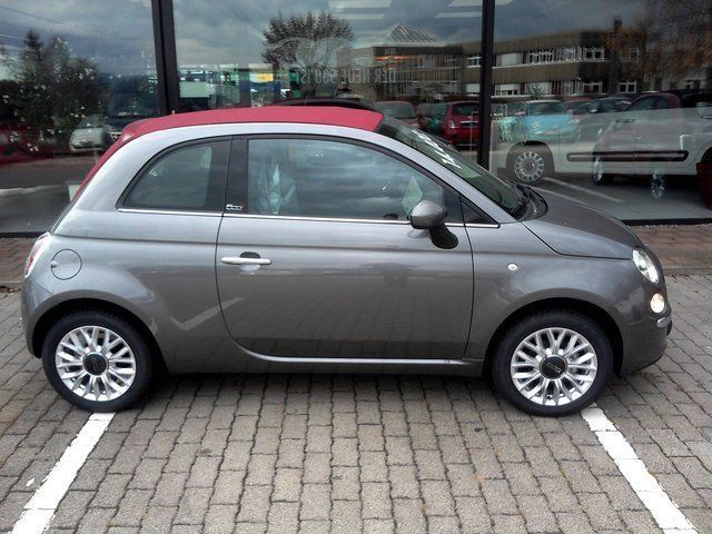 verkauft fiat 500c 1 2 8v lounge gebraucht 2014 10 km in m nster. Black Bedroom Furniture Sets. Home Design Ideas