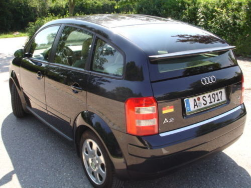 verkauft audi a2 1 4 gebraucht 2003 km in augsburg. Black Bedroom Furniture Sets. Home Design Ideas
