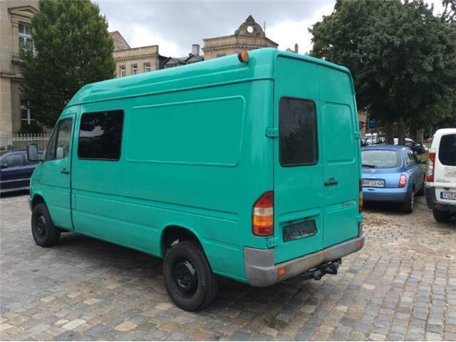 gebraucht 312 4x4 allrad mercedes sprinter 1996 km in kirchehrenbach. Black Bedroom Furniture Sets. Home Design Ideas