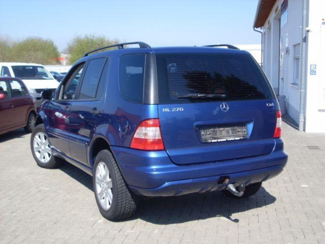 verkauft mercedes ml270 cdi klimaautom gebraucht 2002 km in bad d rrheim. Black Bedroom Furniture Sets. Home Design Ideas