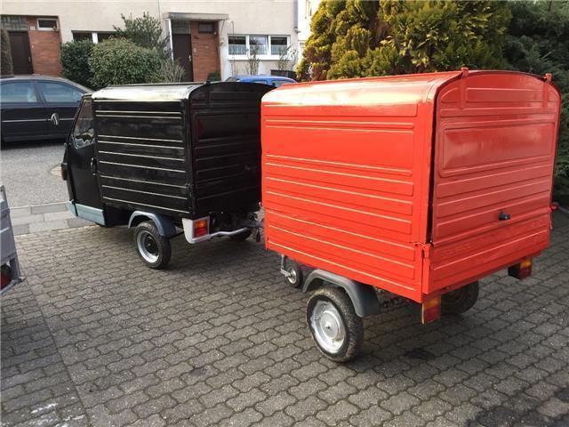 verkauft piaggio ape 50 kasten 25 km h gebraucht 2017 20 km in bensheim. Black Bedroom Furniture Sets. Home Design Ideas