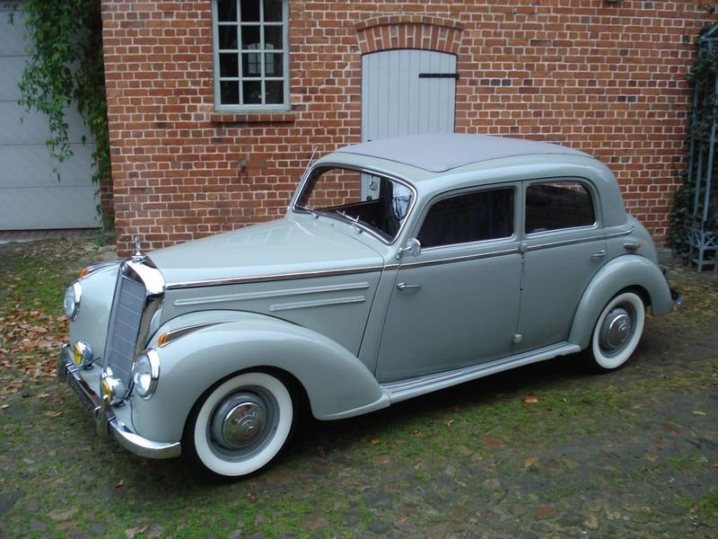 verkauft mercedes 220 typ 187 gebraucht 1952 km in m hlheim main. Black Bedroom Furniture Sets. Home Design Ideas