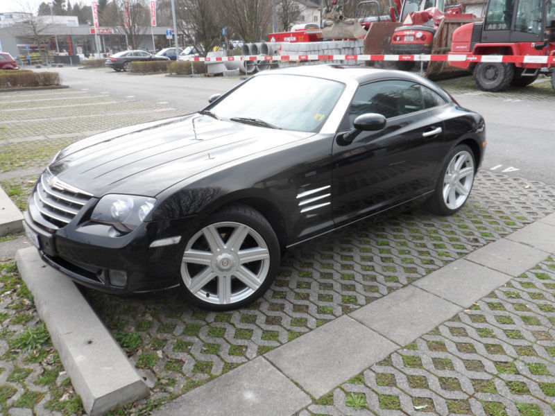 verkauft chrysler crossfire automatik gebraucht 2005 km in erlangen. Black Bedroom Furniture Sets. Home Design Ideas