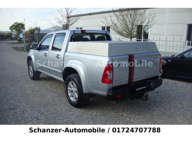 gebraucht 4x4 double cab autm custom klima ahk 3t isuzu d max 2010 km in k ln. Black Bedroom Furniture Sets. Home Design Ideas
