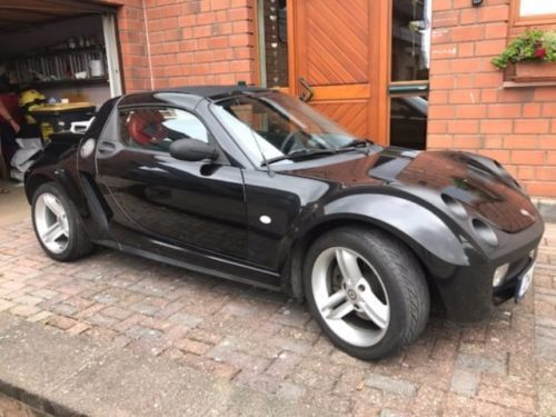 verkauft smart roadster gebraucht 2003 km in. Black Bedroom Furniture Sets. Home Design Ideas