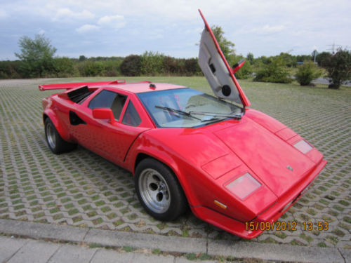 verkauft lamborghini countach saier re gebraucht 1994 km in st leon rot. Black Bedroom Furniture Sets. Home Design Ideas