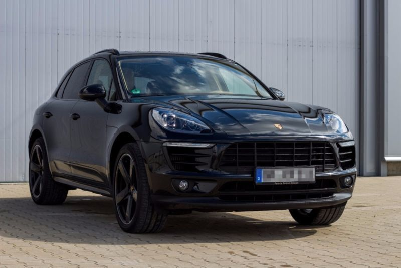 gebraucht 340 ps benziner porsche macan s 2015 km in sinzheim. Black Bedroom Furniture Sets. Home Design Ideas