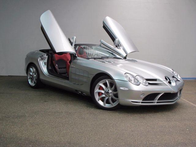 verkauft mercedes slr mclaren roadster., gebraucht 2010, 682.000 km