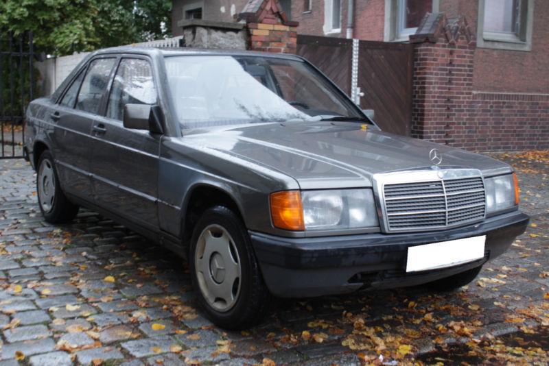 verkauft mercedes 190 d diesel schaltg gebraucht 1986 km in berlin. Black Bedroom Furniture Sets. Home Design Ideas