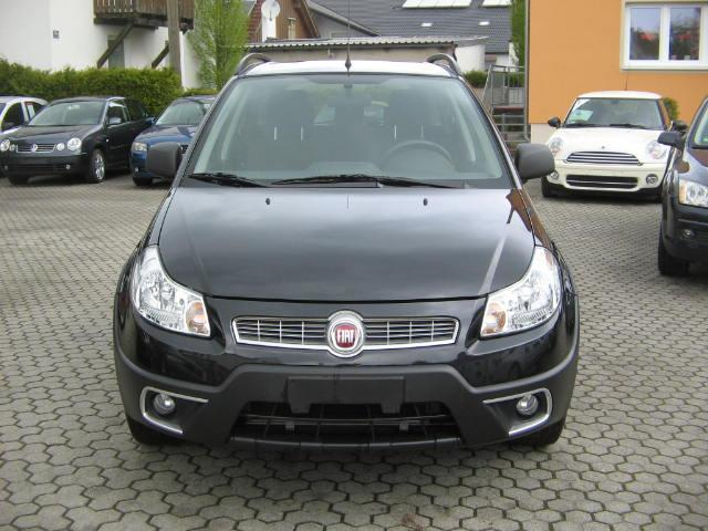 verkauft fiat sedici 1 6 16v 4x2 dynam gebraucht 2011 km in ingolstadt. Black Bedroom Furniture Sets. Home Design Ideas