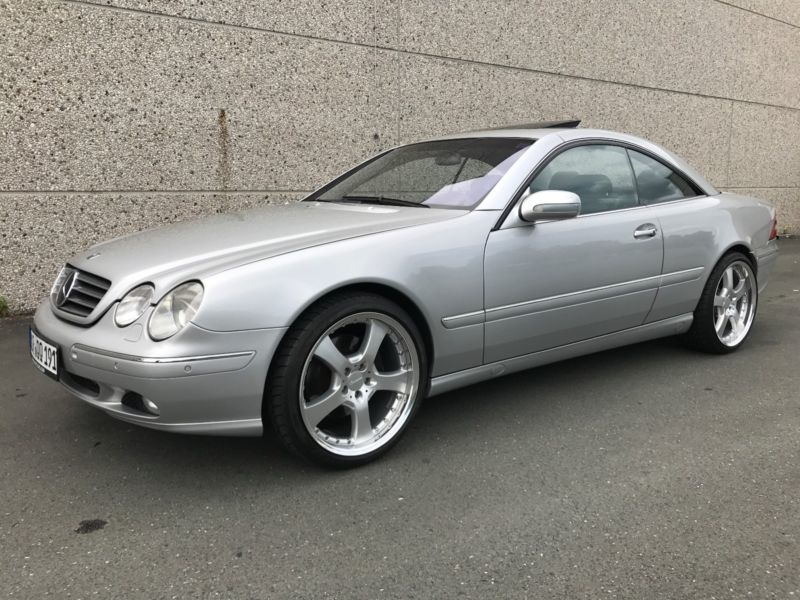 verkauft mercedes cl500 cl coupe 500 a gebraucht 2001 km in kassel. Black Bedroom Furniture Sets. Home Design Ideas