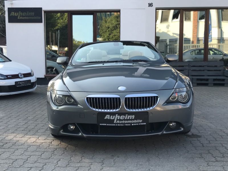 verkauft bmw 650 cabriolet gebraucht 2006 km in. Black Bedroom Furniture Sets. Home Design Ideas