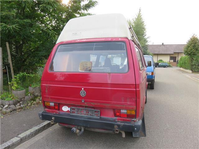 verkauft vw t3 gebraucht 1988 km in heitersheim. Black Bedroom Furniture Sets. Home Design Ideas