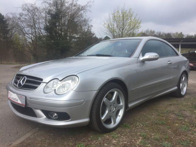 verkauft mercedes clk500 clk coupe gebraucht 2004 km in storkow mark b. Black Bedroom Furniture Sets. Home Design Ideas