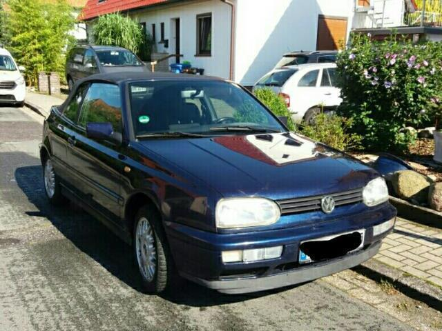 verkauft vw golf cabriolet cabrio t gebraucht 1997 km in langen. Black Bedroom Furniture Sets. Home Design Ideas