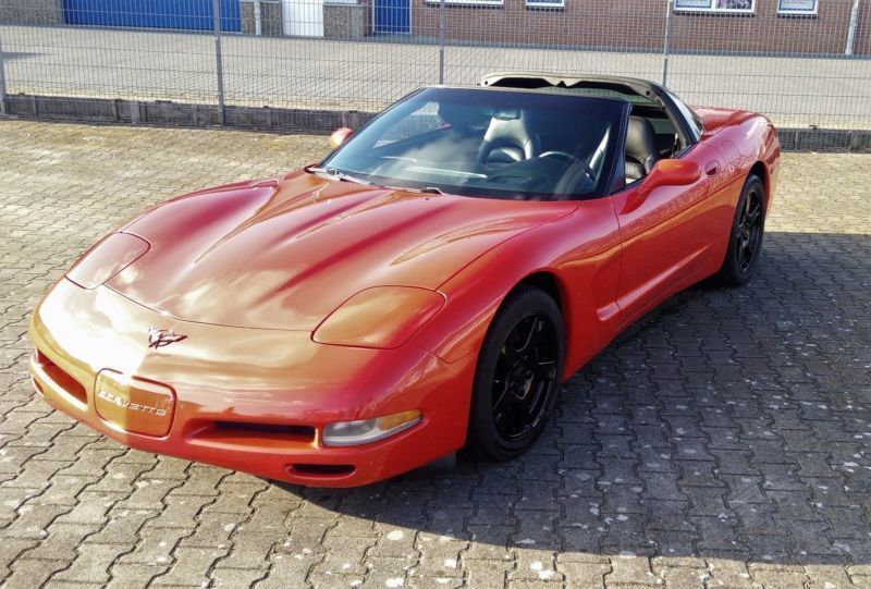 verkauft corvette c5 gebraucht 1999 km in nordhorn. Black Bedroom Furniture Sets. Home Design Ideas