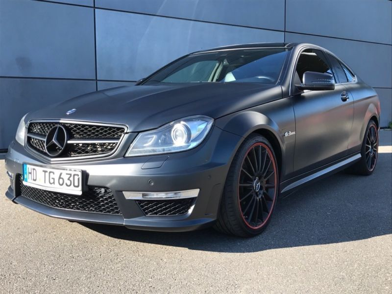 verkauft mercedes c63 amg amg coupe am gebraucht 2011 km in sandhausen. Black Bedroom Furniture Sets. Home Design Ideas