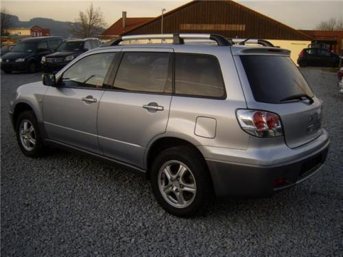 verkauft mitsubishi outlander 2 4 sport gebraucht 2004 km in miesbach parsberg. Black Bedroom Furniture Sets. Home Design Ideas