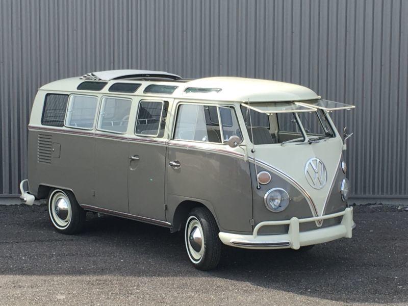 verkauft vw t1 samba 21 fenster bus de gebraucht 1964. Black Bedroom Furniture Sets. Home Design Ideas