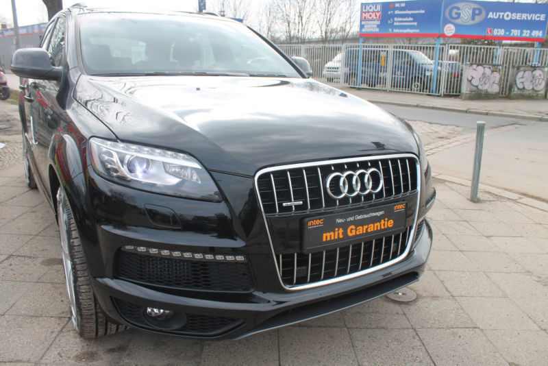 verkauft audi q7 3 0 tdi dpf quattro s gebraucht 2015 km in berlin. Black Bedroom Furniture Sets. Home Design Ideas