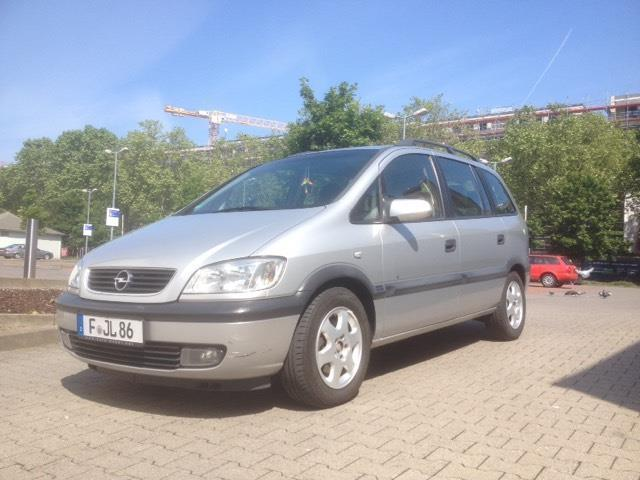 verkauft opel zafira 1 8 16v elegance gebraucht 2000 km in zuffenhausen. Black Bedroom Furniture Sets. Home Design Ideas