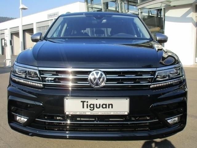 Vw Tiguan Allspace 20 Diesel 239 Ps 2018 Frankfurt Autouncle