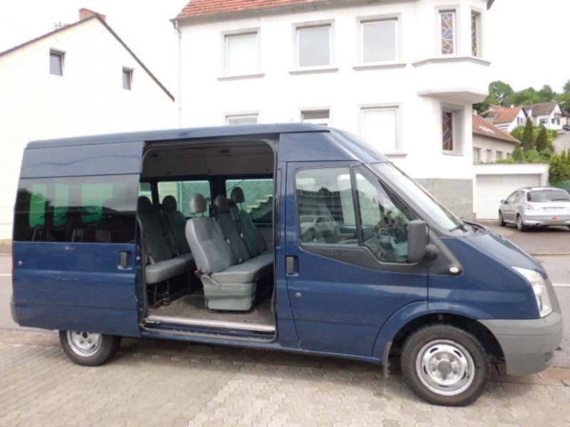 verkauft ford transit 280 m tdci 9 sit gebraucht 2008. Black Bedroom Furniture Sets. Home Design Ideas