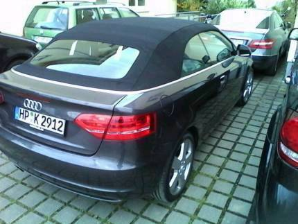 verkauft audi a3 cabriolet gebraucht 2009 km in. Black Bedroom Furniture Sets. Home Design Ideas