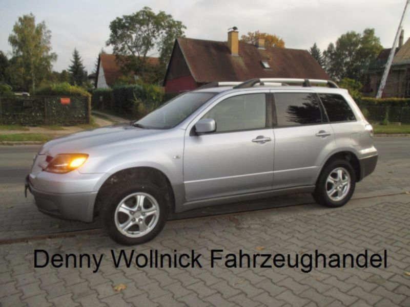 verkauft mitsubishi outlander 2 0 sport gebraucht 2003 km in niederlehme. Black Bedroom Furniture Sets. Home Design Ideas