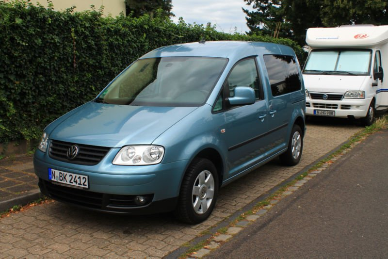 verkauft vw caddy 1 9 tdi maxi kast lr gebraucht 2010 km in weinheim. Black Bedroom Furniture Sets. Home Design Ideas