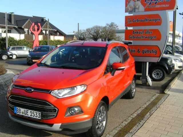 verkauft ford ecosport 1 0 ecoboost gebraucht 2015 km in rutesheim. Black Bedroom Furniture Sets. Home Design Ideas