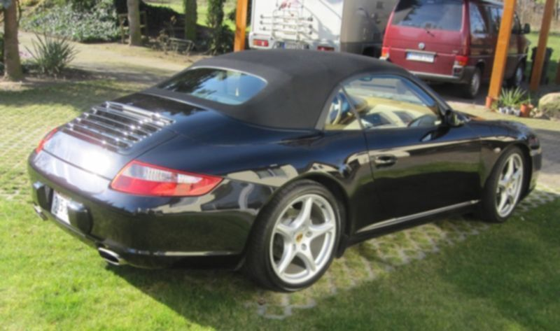 gebraucht cabrio sport chrono plus porsche 997 2005 km in bielefeld. Black Bedroom Furniture Sets. Home Design Ideas