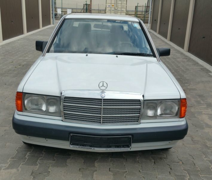 verkauft mercedes 190 d euro 2 t v 4 2 gebraucht 1992 km in offenbach. Black Bedroom Furniture Sets. Home Design Ideas
