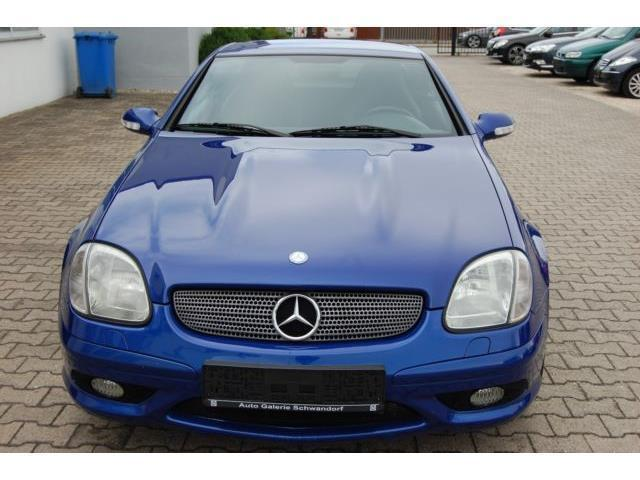 verkauft mercedes slk320 gebraucht 2001 km in nettetal. Black Bedroom Furniture Sets. Home Design Ideas
