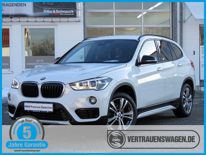 gebraucht BMW X1 sDrive 18d Sport Line NAVI DDC LED LEDER HiFi